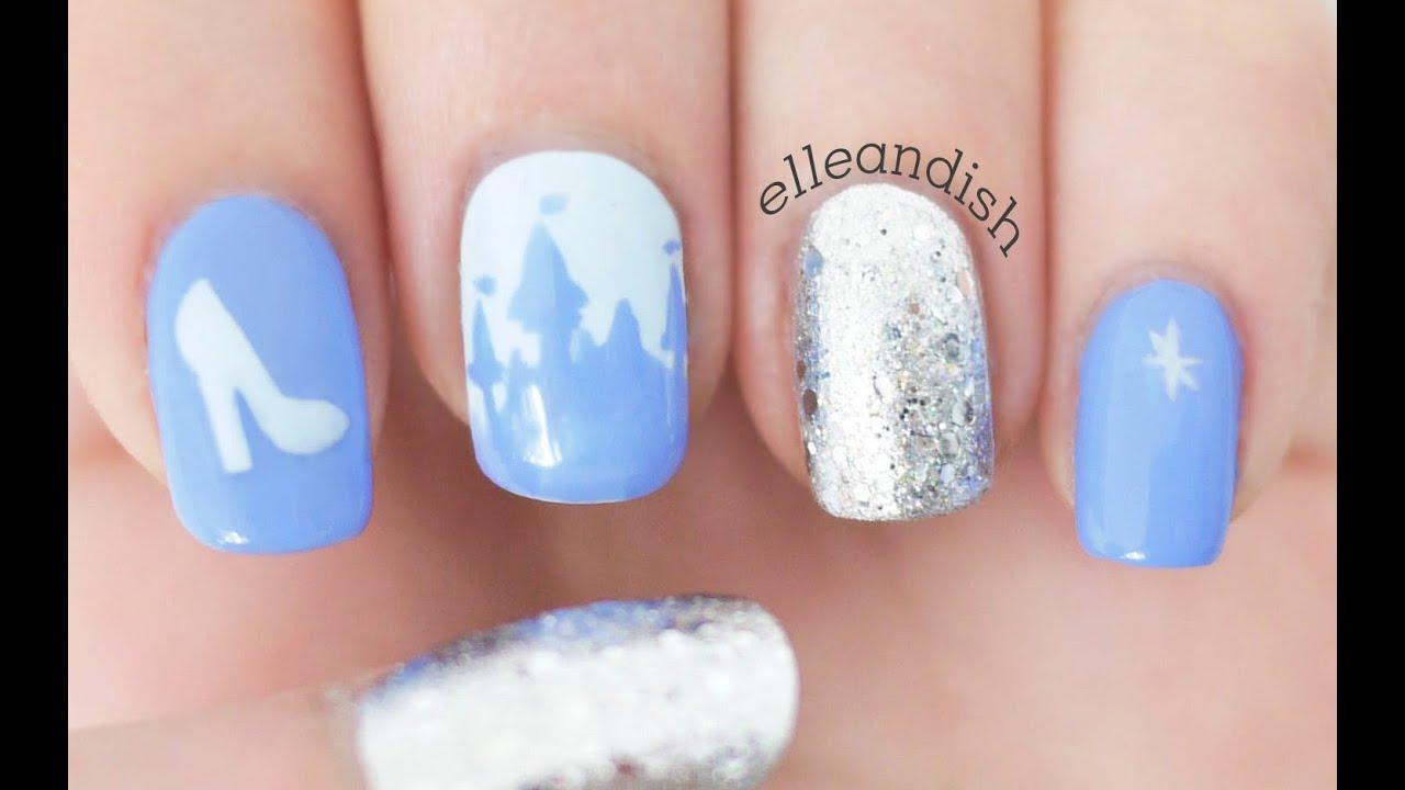 Cinderella Nails - YouTube