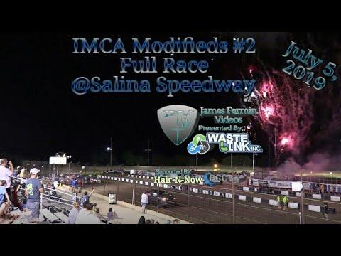 (IMCA) Modifieds #50, Full Race, Salina Speedway, 07/05/19