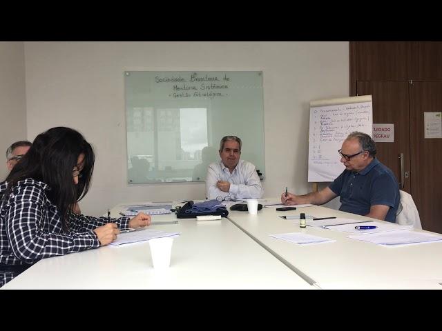 Reunião de Conselho de Mentoria da Sociedade Brasileira de Mentoria Sistêmica