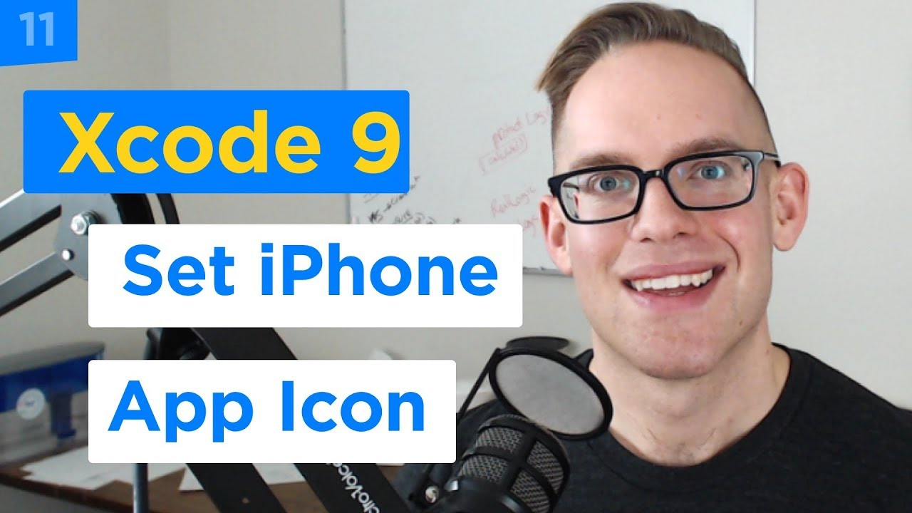 iPhone Apps 101 - How to Add Your iPhone App Icon to Your Xcode 9 Project  (11/29)