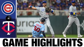 Cubs vs. Twins Game Highlights (9/1/21)