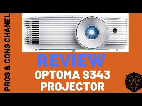Optoma S343 SVGA DLP Professional Projector  Review