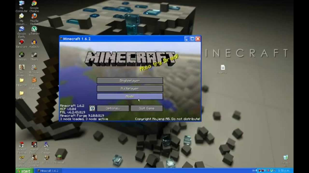 How to install Minecraft Forge 1 6 2 (Windows XP)