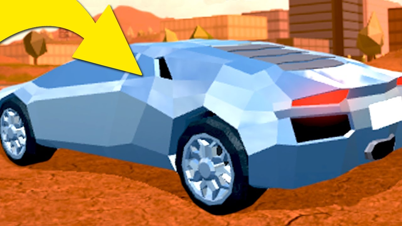 HOW TO GET THIS CAR IN ROBLOX JAILBREAK!!