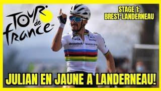 Tour de france 2021 tappa 1. julian ...