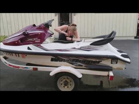 Yamaha Waverunner Winterization YouTube