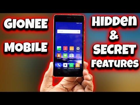 GIONEE Hidden & Secret Features - YouTube
