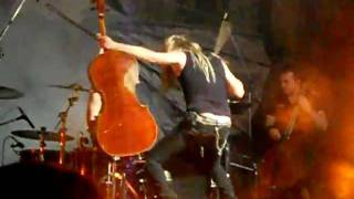 Apocalyptica - Seek and destroy (1º parte) - Argentina 2012