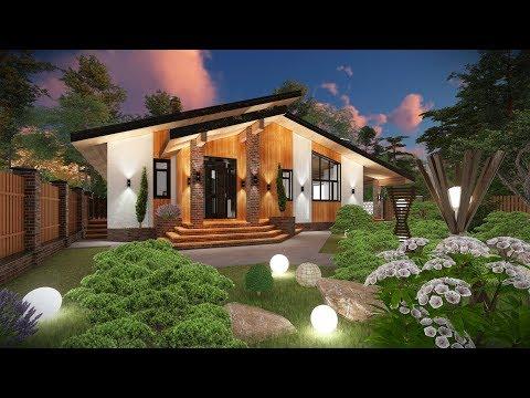 Проект одноэтажного дома в Казахстане
