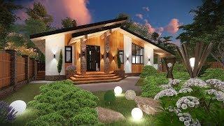 видео Одноэтажные дома в стиле Шале: проекты, фото