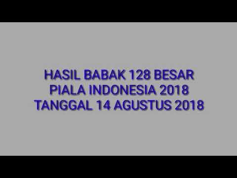 PIALA INDONESIA 2018 - Bogor FC vs Persika Karawang