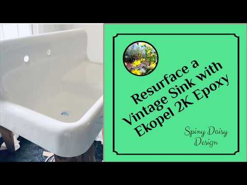 Resurfacing a Vintage Sink with Ekopel 2K Epoxy