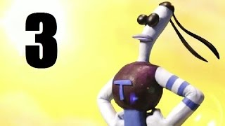 Armikrog Walkthrough - Part 3 - Lines and Dots, Pushing Blocks, Baby Toy 2, Flying Beak