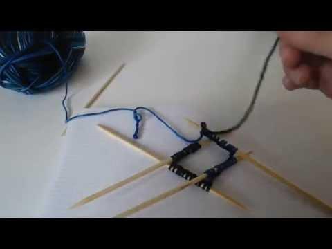 Socken Stricken Tutorial - Teil 1- Der Maschenanschlag