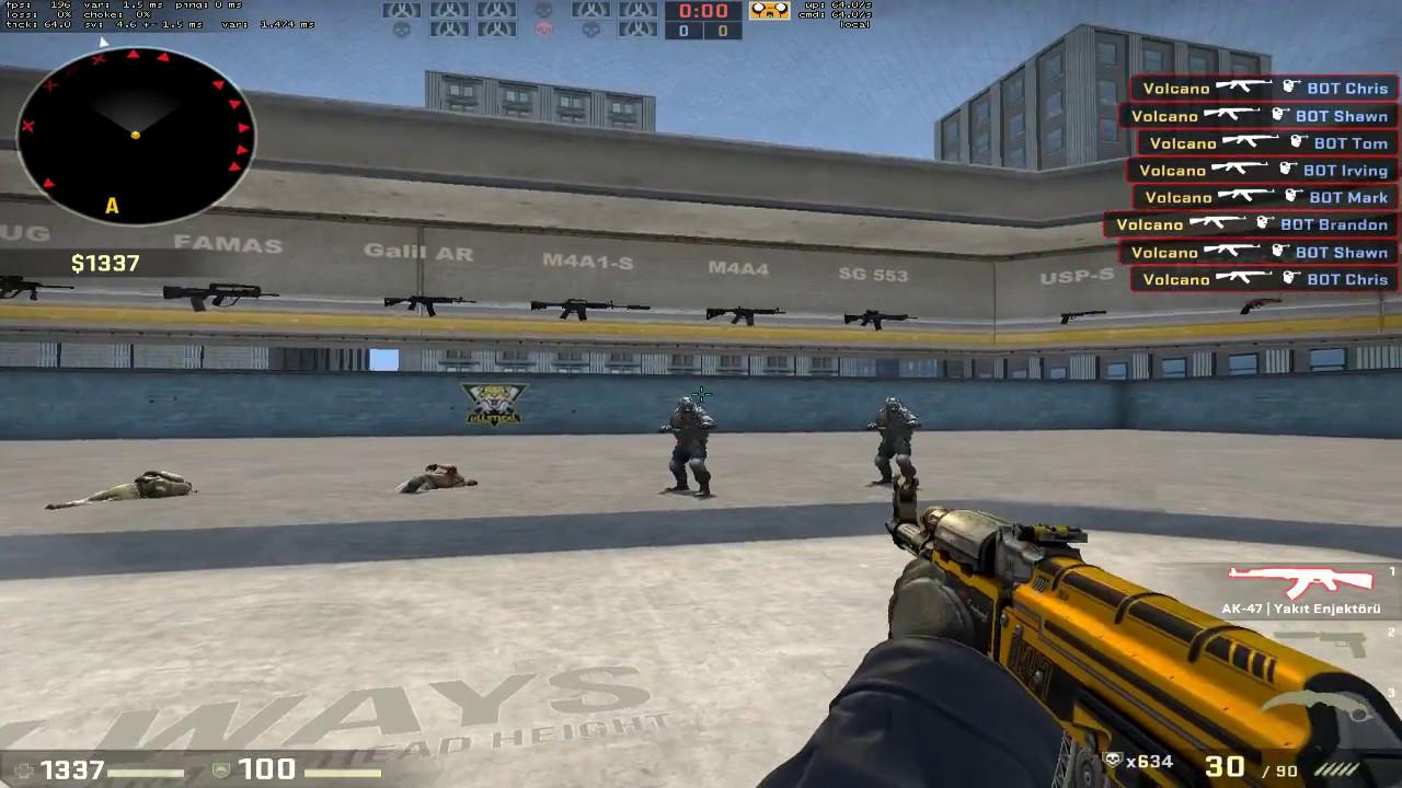 CS GO Training on Aim_Botz Best Aim Map!