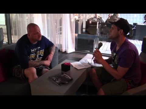 The Resistance / The Haunted Interview Marco Aro 2013