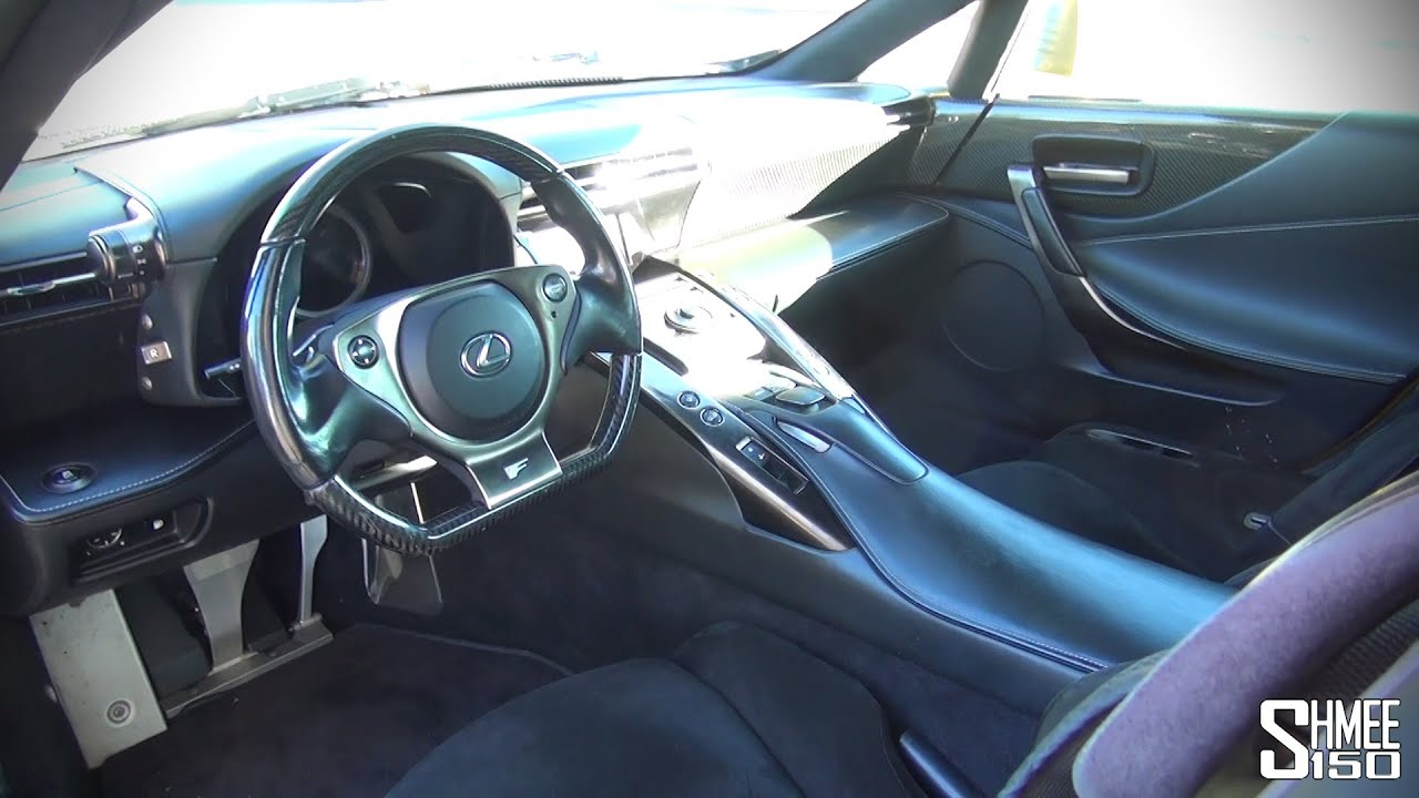 High Quality Inside The Lexus LFA   Full Interior Tour   YouTube