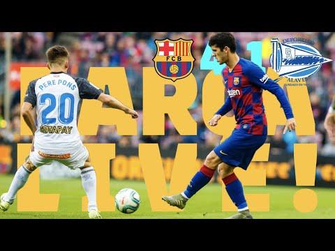Barça 4 - 1 Alavés | BARÇA LIVE: Warm Up & Match Center #BarçaAlavés