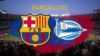 Zapętlaj ⚽ Barça - Alavés | BARÇA LIVE: Warm Up & Match Center #BarçaAlavés | FC Barcelona
