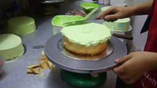 Cooking | menghias kek