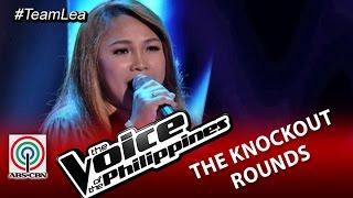 """Team Lea Knockout Rounds: """"Bukas Na Lang Kita Mamahalin"""" by Leah Patricio-Season 2"""