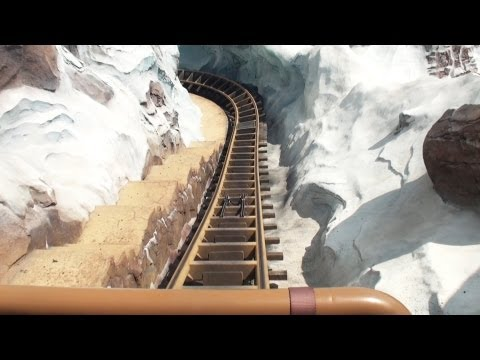 Expedition Everest POV Front Disney's Animal Kingdom Florida Roller Coaster