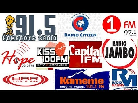 THE MOST LISTENED TO RADIO STATION IN KENYA