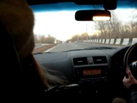180km/h on Russian roads through Khakassia