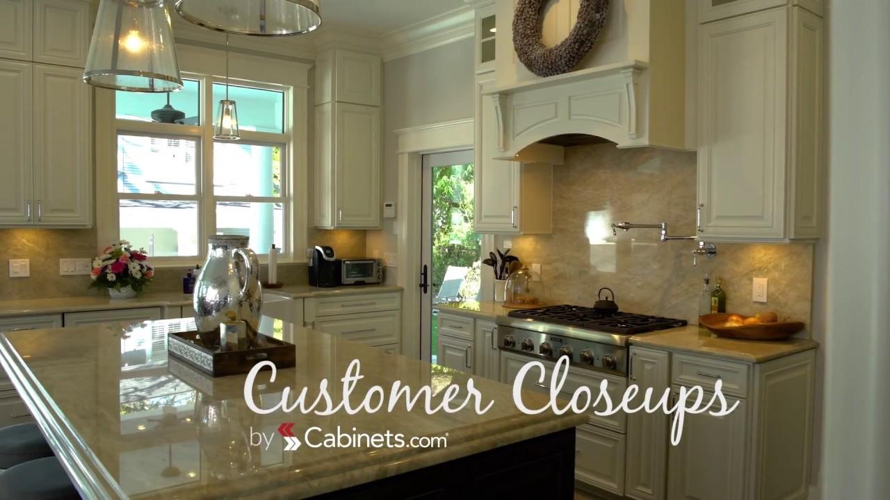 Cabinets.com   Customer Closeups   Elegant Remodel (Florida)