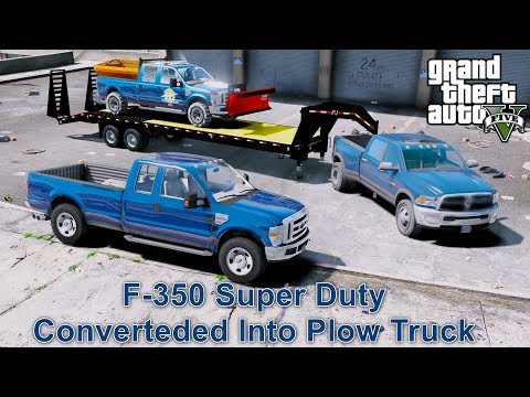 ANOTHER DAY AT WORK #37 GTA 5 REAL LIFE MOD - BUYING A F-350