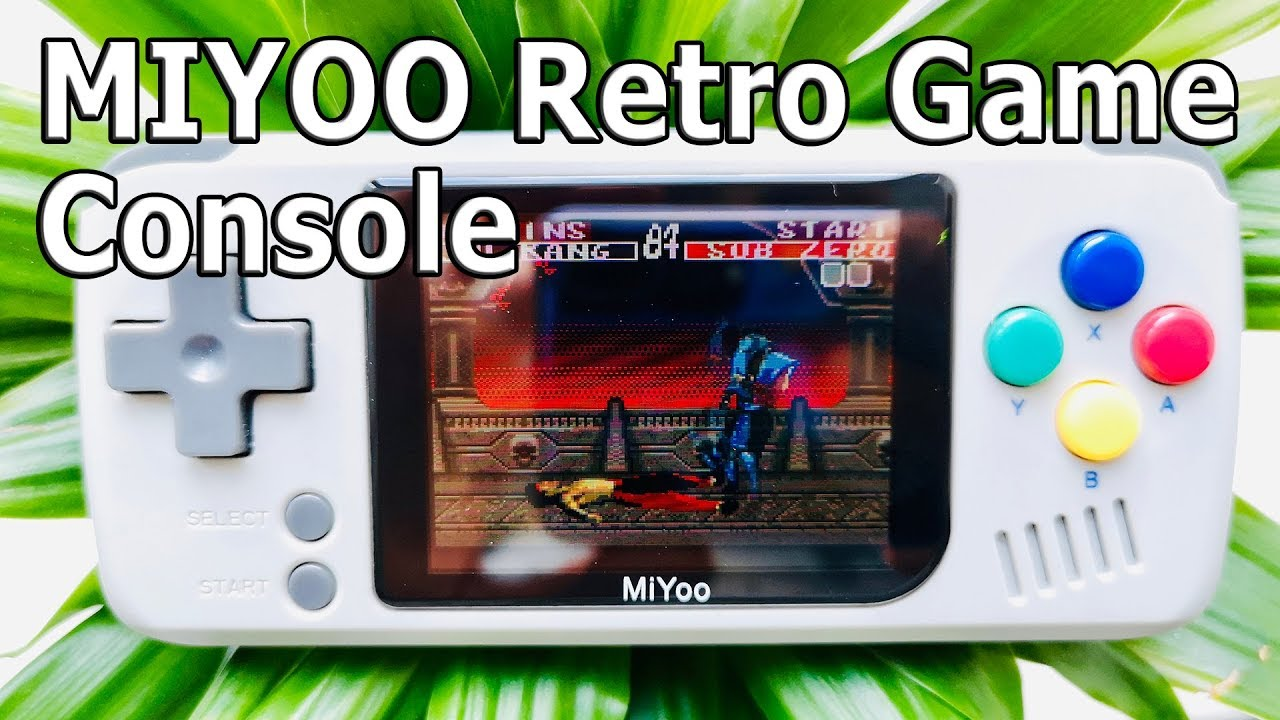 Back to the Past, from 18 do not look! MIYOO Retro Game Console
