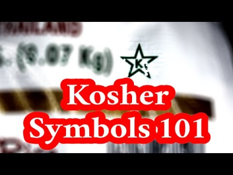 Kosher Symbols 101: Which ones should I trust?