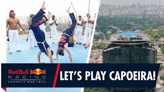 Capoeira in the clouds | Daniel Ricciardo and Max Verstappen go with the flow in Brazil