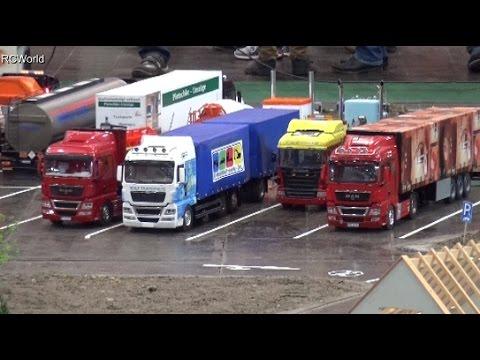 RC Trucks LKW Modellbaufreunde Ost ♦ Modell Hobby Spiel Leipzig 2015 Modellbaumesse Minitruck