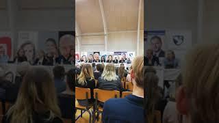 Brigitte Klintskov Jerkel, Konservative, på Sorø Akademi