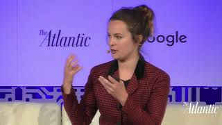 Bridgit Mendler speaks about Humanity + Tech @ Atlantic Live (09.05.2018)