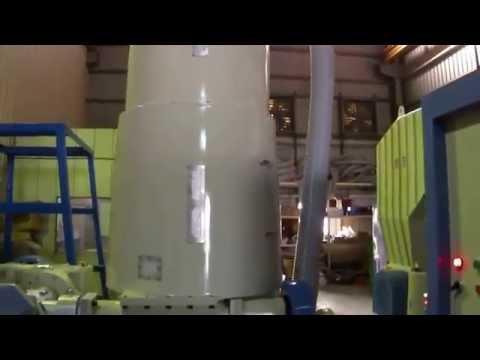 85 mm Side Screw Feeder Type Plastic Waste Recycling Machine