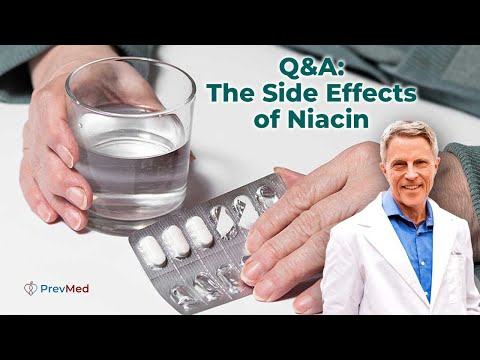 Q&A: The Side Effects Of Niacin