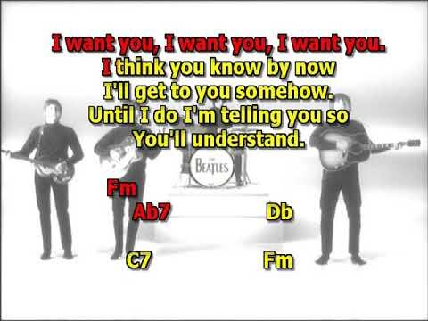 Michelle Beatles Mizo Vocals No Guitar Intro Lyrics Chords Youtube