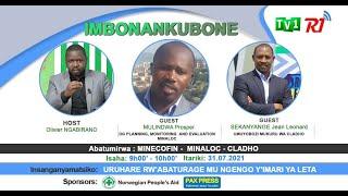 #IMBONANKUBONE// URUHARE RW'ABATURAGE MU NGENGO Y'IMARI YA LETA.// #MINALOC #MINECOFIN #CLADHO