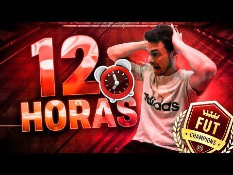 MARATÓN DE FUT CHAMPIONS EN DIRECTO!! 12 HORAS SIN PARAR!!