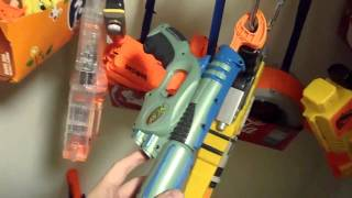 The ULTIMATE Nerf Gun Armory