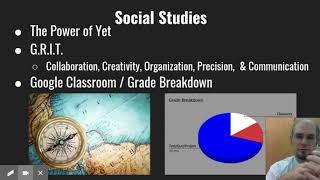 Mr. Hill - 7th Grade Homeroom, Religion, and Social Studies