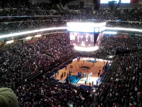 Inside American Airlines Center final seconds :D