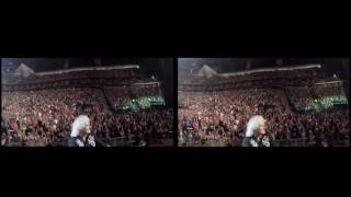 Selfie Stick Video |3D| Las Vegas, USA [June 24, 2017] Queen + Adam Lambert