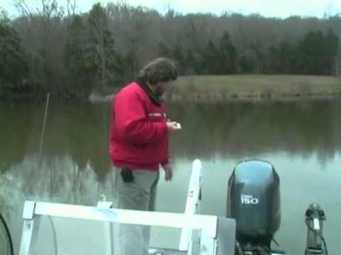 How to use a Power-Pole anchor to catch more Crappie