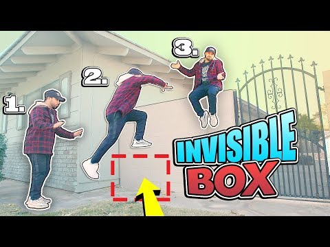 How to Do the invisible BOX CHALLENGE! (I BET $1,000 YOU WON'T BELIEVE THIS)