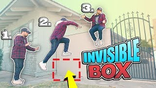 How to Do the invisible BOX CHALLENGE! (I BET $1,000 YOU WON