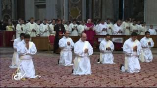 2014 05 11 CDR Ordinazioni Presbiterali - Basilica di San Pietro