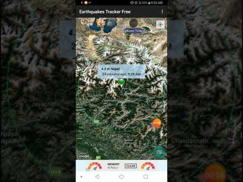 4.3 Earthquake Maila, Nepal 19-2-20